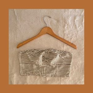american eagle ruched tube top !